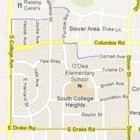 South College Heights Neighborhood Boundaries