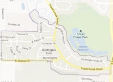 Huntington Hills Neighborhood Boundaries