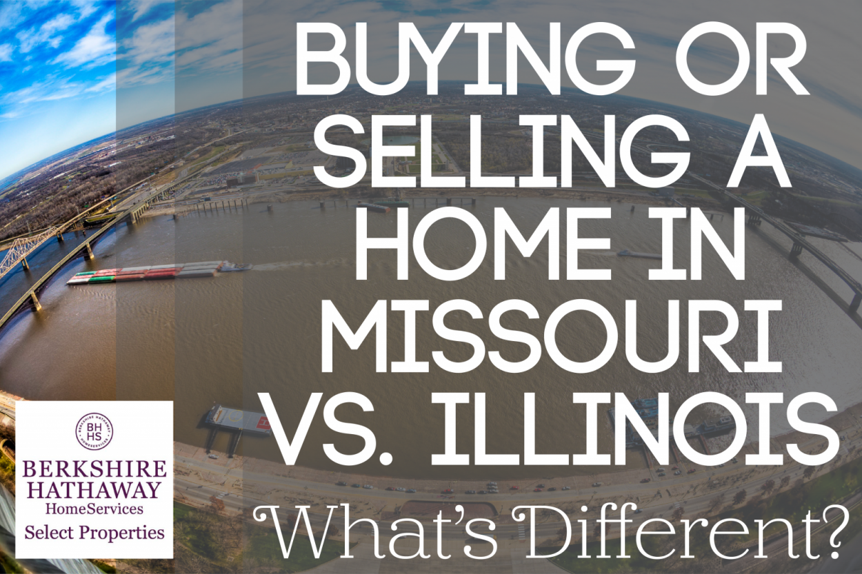 Buying or Selling a Home in Missouri vs. Illinois: What's Different?