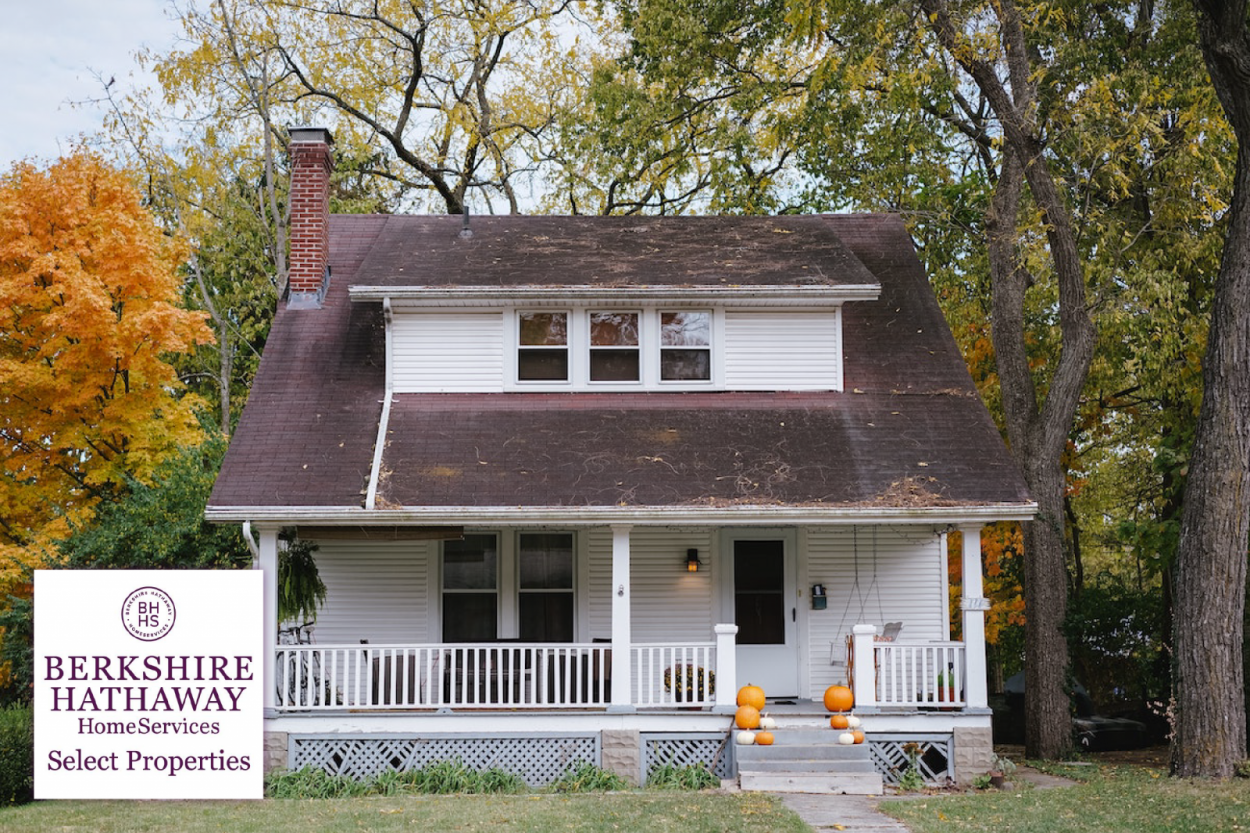 An older, outdated home that is being sold as-is