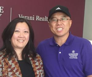 Agents Diana Kopp and Frank Wu