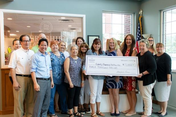 Verani Realty Donates to Local Charity