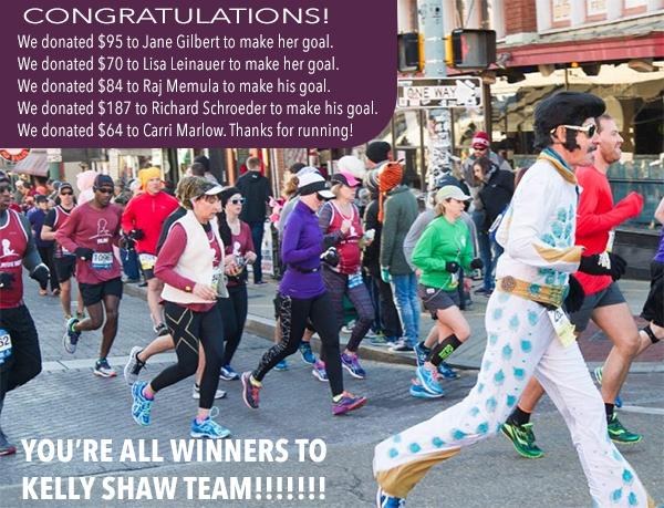 St. Jude Marathon Runners