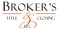 Broker's Title & Closing Settlement Services