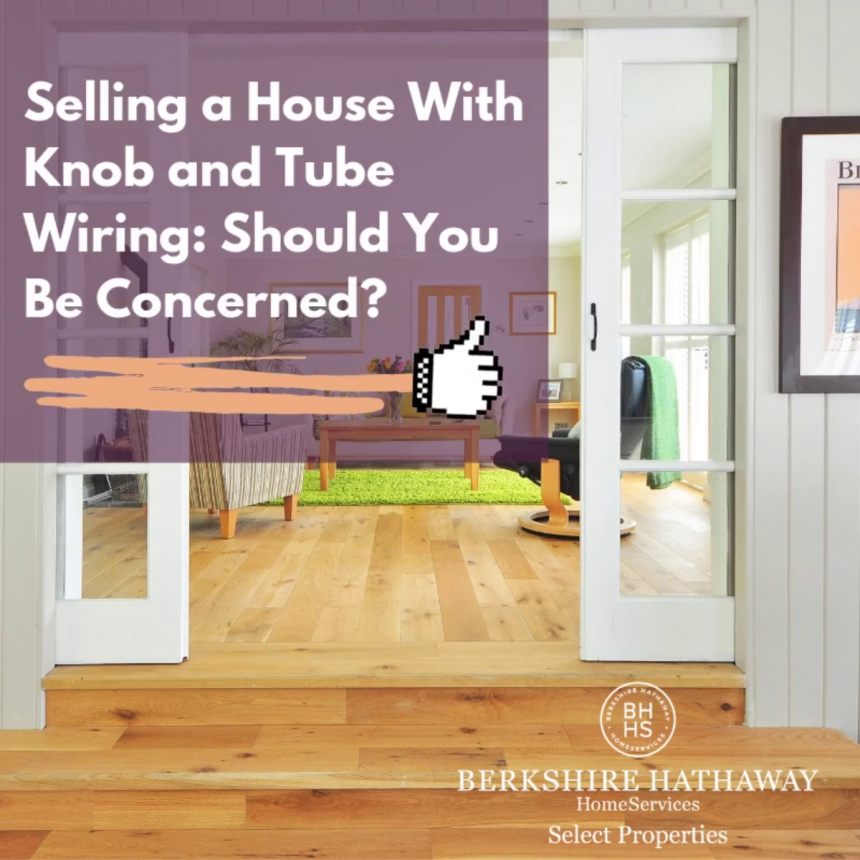 buying a home with knob and tube wiring