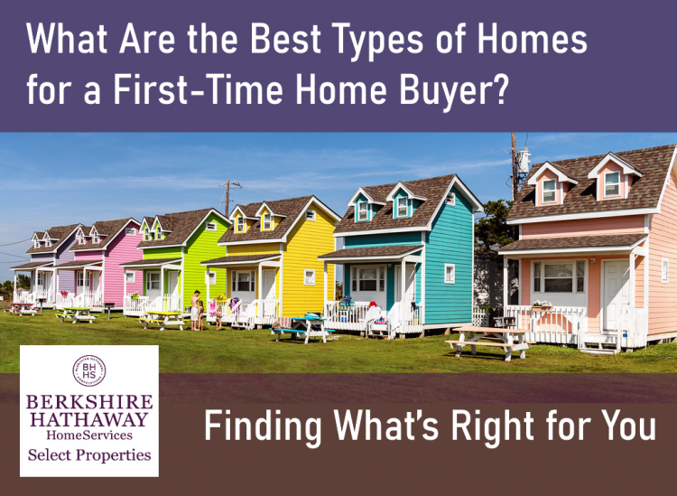 smaller homes in a row ideal for first time home buyers