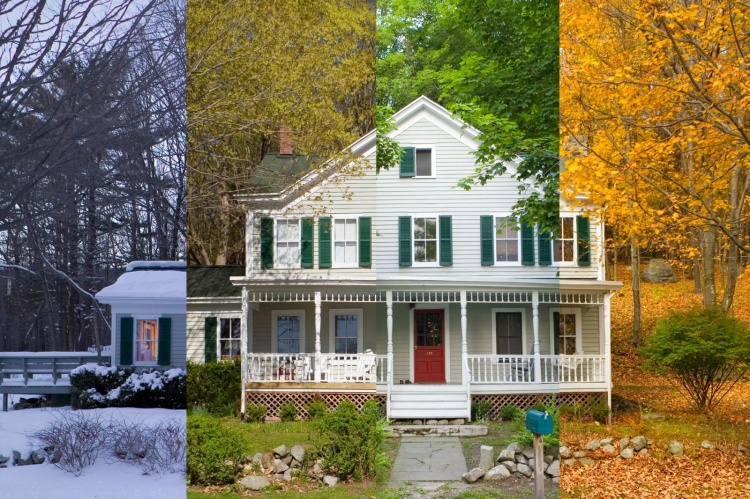 four seasons house - what is the best season to sell your house
