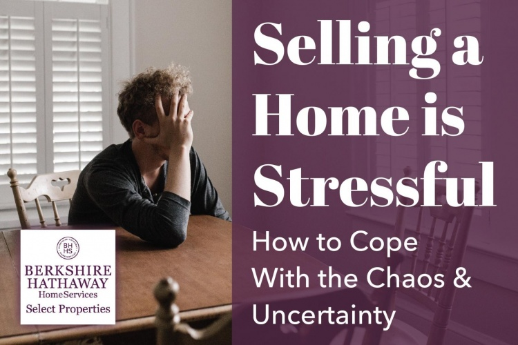 Selling a home is stressful