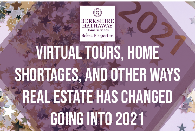 Virtual Tours, Home Shortages, and Other Ways Real Estate Has Changed Going into 2021