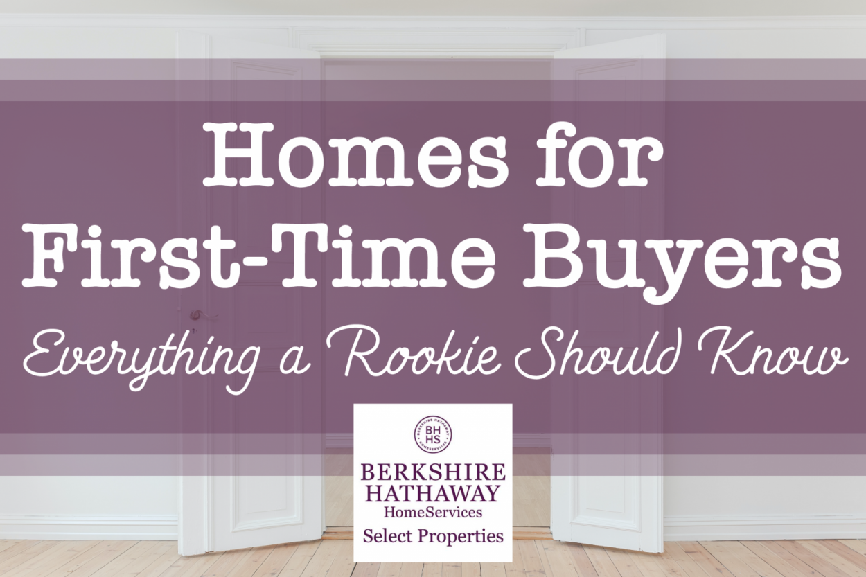 Homes for First-Time Buyers: Everything a Rookie Should Know
